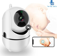 Wholesale WiFi Baby Monitor With Camera P HD Video Baby Sleeping Nanny Cam Two Way Audio Night Vision Home Security Babyphone Camera