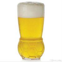 ingrosso bicchieri di birra trasporto libero-Trasporto libero tazza di calcio 460 ML birra succhi di occhiali mondo trofeo calcio calcio tazza di vetro tazza di vino di festa tazza di vetro bar acclamazioni di vetro