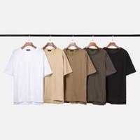 tops vorne langer rücken großhandel-2019 Mens T-shirt Hip Hop Vordere kurze rückseite langes T-shirt Für Männer Mode t-shirts Sommer T Tops