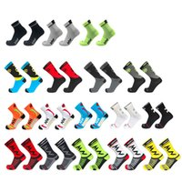 Wholesale green team socks for sale - Group buy Different Styles Pro Team Men Women Cycling Socks MTB Bike Socks Breathable Road Bicycle Outdoor Sport Summe Racing