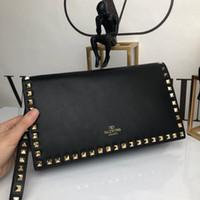 pfau stil kupplung großhandel-Designer Damen Geldbörse berühmten Designer klassischen Leder Mode Stil Handtasche Luxus hochwertige Mode Damen Kupplung