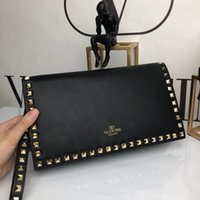 kaliteli bayanlar debriyaj cüzdan toptan satış-Tasarımcı bayanlar cüzdan ünlü tasarımcı klasik deri moda stil debriyaj çanta lüks yüksek kalite moda bayanlar debriyaj