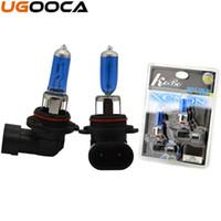 Wholesale halogen xenon headlights resale online - 2 x Xenon Halogen Car Headlight Bulb Kit K V W Auto Replacement Lamp
