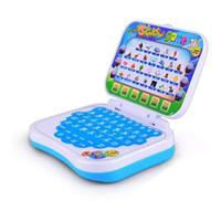 jouets d'apprentissage achat en gros de-Nouveau bébé enfants pré scolaire apprentissage étude jouet jouet ordinateur portable jeu jouet éducatif jouet Envoyer au hasard