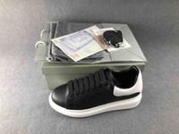 en rahat bayanlar elbiseleri toptan satış-Moda tasarımcısı ayakkabı Hakiki Deri Tasarımcısı Sneaker Rahat Ayakkabılar kadın erkek bayan erkek kız ayakkabı en iyi elbise a ...