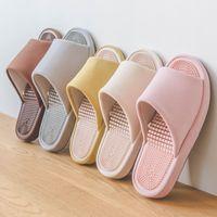 Wholesale men bedroom shoes resale online - Suihyung Home Slippers New Summer Women Indoor Floor Shoes Lovers Bedroom Casual Massage Slippers Woman Man Soft EVA