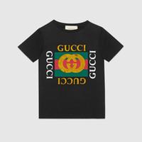 12-jährige mädchenkleidung groihandel-2019 neue marke designer marke 2-12 jahre alt jungen mädchen T-shirts sommer shirt Tops baumwolle kinder Tees kinder Kleidung 4 farben