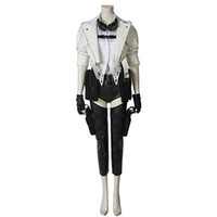 Wholesale female cosplay characters online - Devil May Cry COS Latty Complete Cosplay Costume Mary Leather Pants Game Character C Service Halloween Female