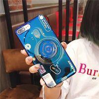 soporte para cámara de teléfono móvil al por mayor-Cool Design Fashion TPU Camera Mobile Case Soporte para cámara Funda para teléfono para iPhone 7 8PLUS XR X MAX