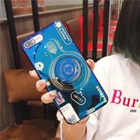самые крутые конструкции корпуса телефона оптовых-Крутой Дизайн Мода ТПУ Камера Мобильный Чехол Держатель Камеры Телефон Чехол для iPhone 7 8PLUS XR X MAX