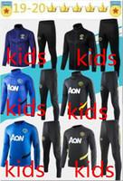 ternos azuis para crianças venda por atacado-2019 20 Juventus polo Soccer Polo Fato de Treino Juventus 19/20 Fatos de Treino  Traning Jersey Futebol Polo Size S-2XL