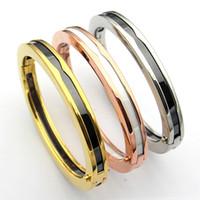 Wholesale brazilian bracelets online - 2019 Classic Luxury B Elliptical Ceramic Bracelet Creatively Customized High end Women s Party Bracelet Brazilian style bangle