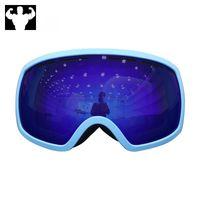 koksgläser groihandel-Skibrille Doppel-Anti-Fog-Outdoor-Schnee Klettern Cola Myopie Anti-Snow Blind winddicht Männer und Frauen Skibrille Skibrille