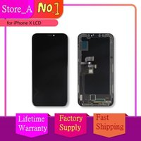 Wholesale tft lcd test resale online - Screen For iPhone X LCD Display Touch Screen Digitizer Assembly OEM Replacement TFT Tested For iPhone X quot