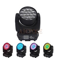 Wholesale stage lighting head 15w for sale - Group buy 19x15w Zoom Moving Head Light Wall Wash light With Circle Control Function w Stage Light