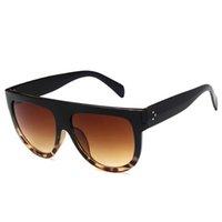 modische dame sonnenbrille großhandel-Sonnenbrillen für Damenmode Sonnenbrillen Damen Luxus Sonnenbrille trendige Frau Sunglases Damen übergroßen Designer Sonnenbrillen 6K6D18