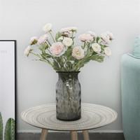 ingrosso pot di decorazione di fiori artificiali-Little Lotus Fake Flower Home Desktop Fiori artificiali Decorazioni per piante in vaso Forniture per matrimoni Arrange More Color 7 7ydC1