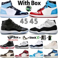 Wholesale fishing shoes size 11 for sale - Group buy Big Size Top s Fearless UNC Mens Women Basketball Shoes Designer Bred s Concord Trainers Sports Sneakers