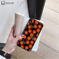 Wholesale iphone 6s plus basketball case online – custom Basketball basket High Quality Silicone Phone Case for iPhone pro XS MAX S Plus X S SE XR case