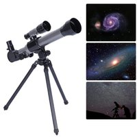 Wholesale tripod toy for sale - Group buy Outdoor Monocular Astronomical Telescope With Tripod Portable Toy Children