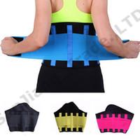 thermoformeurs achat en gros de-CHAUDE Ceinture Puissance Thermo Minceur Shaper Femmes Hommes Unisexe Body Shaper Sport Fitness Taille formateur Réglable Taille Shapers S-3XL 2019 A42306