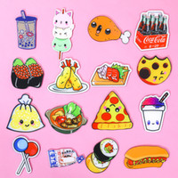 Wholesale 16 PC Fashion Women Cute Pins Fruit Food Pins Love lollipop personality Expression Brooch Badge Food