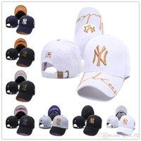 béisbol de los yankees al por mayor-nbspMLB NewnbspYork Yankees Gorra de béisbol NY LA Hombre mujer Los Ángeles nbspdodge Deporte fútbol diseñador hueso gorras sol casquette Sombrero