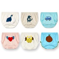 Wholesale 3Pcs Baby Diapers Soft Reusable Baby Cotton Cloths Washable Underwear Comfortable Infant Panties Nappy Changing Training Pants
