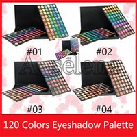 Wholesale eyeshadow logos resale online - Popular Hot New color eyeshadow matter shimmer eye shadow palette no logo high quality For You