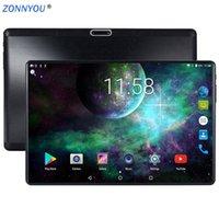 android tablette gps unterstützung großhandel-2.5D ausgeglichenes Glas 10.1 Zoll Tablette PC Android 8.0 3G Telefonanruf Octa Kern 4GB / 32GB verdoppeln SIM Wi-Fi Bluetooth Unterstützungs-GPS-Tablette