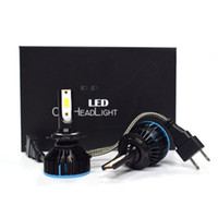 Wholesale led car light bulbs replacement resale online - S5 Led Headlight Bulbs Conversion Kit low beam fog light hid bulbs Lm W Car Led Headlamp Replacement K Xenon White