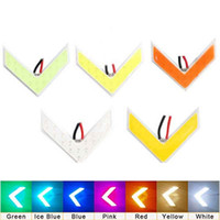 Wholesale rear view mirrors accessories for sale - Group buy Auto COB LED Arrow Light Car Rear View Mirror Indicator DRL Turn Signal Light Warnning Safety Day Light Automobiles Accessories