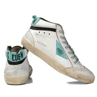 Wholesale golden goose women resale online - Italy Brand Multicolor Heel Golden Superstar Gooses Designer Sneakers Men Women Classic White Do old Dirty Shoes Casual Shoes Size US5