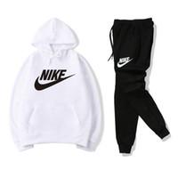 survêtements pour hommes achat en gros de-Survêtements de marque pour hommes Sportswear Costumes de jogging pour hommes Sweats à capuche chandails Printemps Automne Casual Unisexe Marque Sportswear Ensembles Vêtements Out