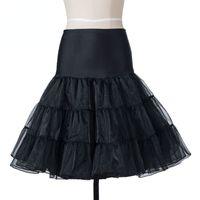 Wholesale underskirt swing vintage resale online - Swing Skirt Rockabilly Petticoat Underskirt Fluffy Pettiskirt For Wedding Bridal Vintage s Audrey Hepburn Women Ball Gown