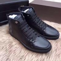 çizme astarı toptan satış-Marka Line-Up Sneaker Boot Erkek Tasarımcı Sneaker Adam Eğitmen Ayakkabı Orijinal Kutusu Ile En Kaliteli Rahat Ayakkabı Boyutu 35-44