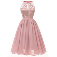 кружевной халат сексуальный розовый оптовых-DREAM BRIDALS Классическое кружевное вечернее платье с короткими рукавами и короткими розовыми бургундскими лавандовыми молниями. Платье Robe De Cocktail Robe De Fete Vestido De Fiesta