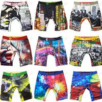 Panties Colors Underwears Quick Dry Sports Shorts Boxer Beach Swim Trunks Pants Graffiti Design Short Briefs A120301