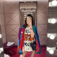 lentejuelas ropa vintage al por mayor-2019 diseñador de moda de lujo de los hombres ropa europa camiseta Lentejuelas doble tigre ELISIR DEL AMOR camiseta de la vendimia camiseta superior camiseta ocasional de las mujeres