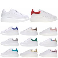 Wholesale casual red for sale - Luxury Men s Women s casual shoes M Reflective designer sneakers leather black White Fashion women Flat Sports shoes Trainers