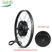 elektro-bike-conversions-kits groihandel-MXUs E Bike Kit Hinterrad Motor 48 / 60V / 72V90V 3000W Elektro-Bike Conversion Kit High Speed Brushless Motor Hub XF40 26/29 Zoll