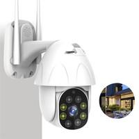 Wholesale ip wifi camera outdoor ptz resale online - 5X Digital Zoom P PTZ WiFi IP Camera Outdoor Speed Dome Wireless Security Camera Pan Tilt Network Surveillance CCTV