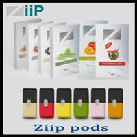Wholesale pack lab resale online - Authentic Ziip Labs Vape Cartridge Flavors ml Prefilled Pod CT Pack JUU Compatible Vapor Cartridges Vs Vgod Stig Eon Pod Original