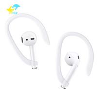 ganchos para la oreja auriculares al por mayor-Ganchos de protección Earhooks Secure Fit Hooks para Apple Airpods Accesorios para auriculares inalámbricos Silicone Sports Anti-lost Ear Hook