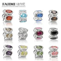 1a5f140bb FAHMI 100% 925 Sterling Silver New December Charm Limited Edition Jewelry  Fit DIY Bracelet Retro Personality Accessories