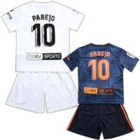 dc0a3cb1a 2019  7 GUEDES  9 ZAZA Kid Kits 18 19  10 PAREJO Child Soccer Jersey Short  Top  16 KONDOGBIA Boys Football Shirts Pants