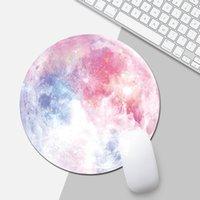 laptops kostenloser verkauf großhandel-Verkaufs-Mausunterlage der runden Mausunterlage der netten Karikatur heiße kundenspezifische Matte für PC Laptop Desktop dhl geben frei