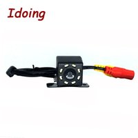 Wholesale hd lights for car for sale - Group buy Idoing HD CCD Car Rear Camera IR lights Reversing Car Backup Reverse Camera Rear View for Android