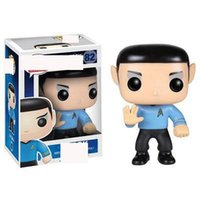 Wholesale adult pvc figures for sale - Group buy Kawaii Funko POP Movie Star Trek Spock Model Toy CM Vinyl toys Action Figure for kids for adult collection