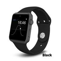 экранные устройства оптовых-Новый DM09 Смарт-Часы Водонепроницаемый Экран HD IPS Bluetooth Спорт SIM Шагомер Smartwatch Носимых Устройств Для IOS Android